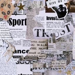 newspaper edit aesthetic freetoedit