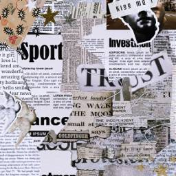 newspaper edit aesthetic freetoedit