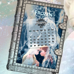 freetoedit calendar calendar2020 frozen elsa srcjanuarycalendar januarycalendar