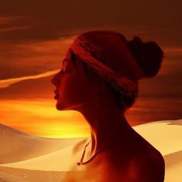 freetoedit meditation ircelegantsilhouette elegantsilhouette
