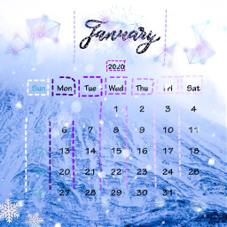 freetoedit january 2020 calender gennaio calendario