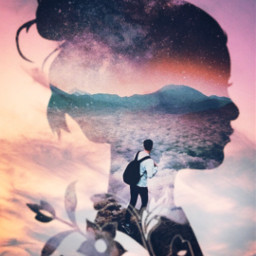 freetoedit doubleexposure surreal picsart madewithpicsart