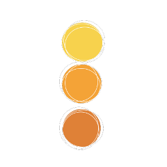 yellow orange circle pallete palleteaesthetic freetoedit