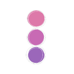 soft pink purple circle pallete freetoedit