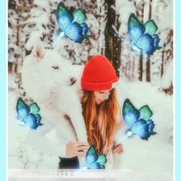 wintertime winterfeels winterforest winter freetoedit