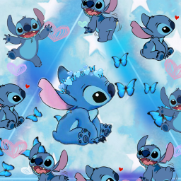 stich💙 freetoedit stich ccblueaesthetic blueaesthetic