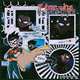 robin robinedit dickgrayson richardgrayson teentitans dc dccomics freetoedit