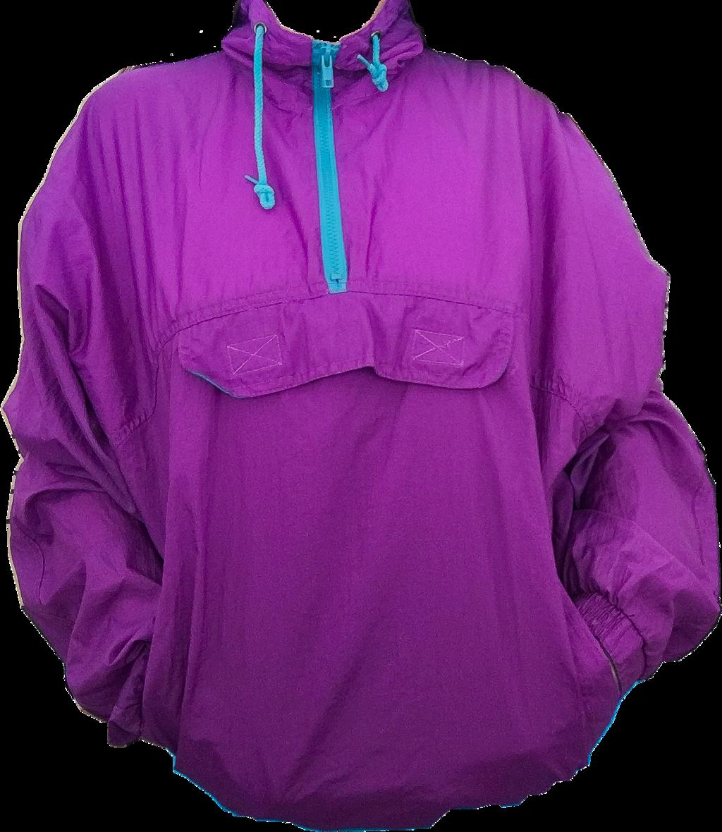 #purple #blue #neon #80s #windbreaker #trendy #vsco #vintage #fashion #style #freetoedit