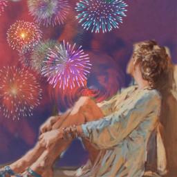 freetoedit remix picsart overlay fireworks