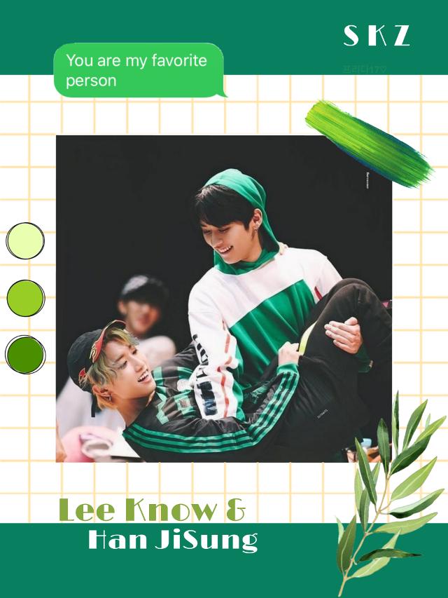 #leeknow #minho #han #jisung #skz #straykids #wallpaper #aesthetic #greenaesthetic