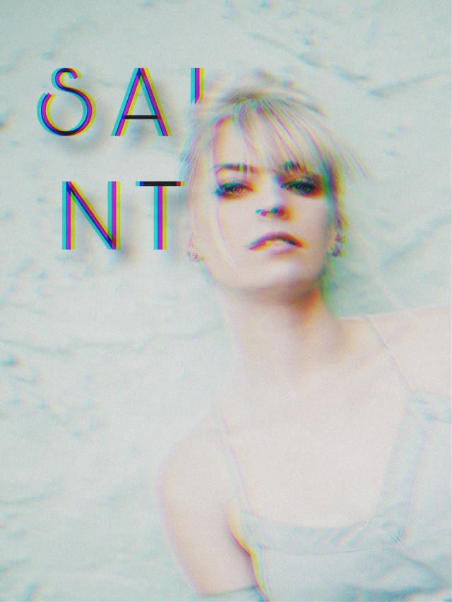 #freetoedit #saint #glitch