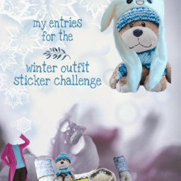 freetoedit stickers winterwear