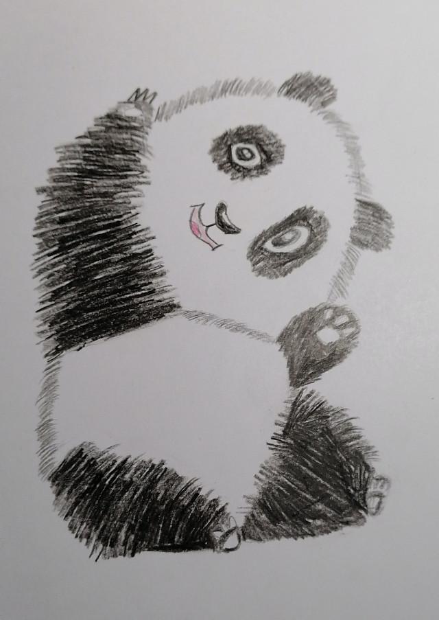 Всем привет! Ну как вам? Сегодня у нас был урок ИЗО и мы рисовали что хотели, я нарисовала вот такую милую пандочку. 🐼🐼🐼 Всех люблю💕💖💋 #панда #пандочка🐼 #рисунок #милота😍 #милашка #мило @blogers2 @mariyamorozhenko @arts_bloggers @love_star_fan @_peash_ @15kuperice16 @d_fofomka