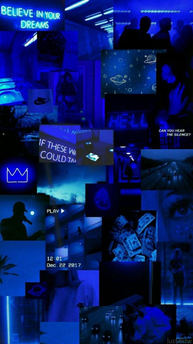 #collage #fondosdepantalla #wallpaper #azul #blueaesthetic #blue #aesthetic #vintage #imagenes #freetoedit #aesthetictext #neon #neonblue