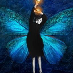 freetoedit fantasy myedit butterfly butterflies