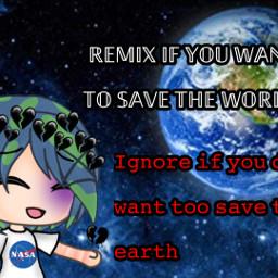 gloabalwarming endangerd natureisgone theanimalsaredying remixorignore freetoedit