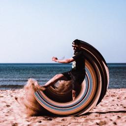 swirl swirledeffect swirltool beach summervibes freetoedit