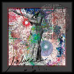 freetoedit yinyang balance layers colorful