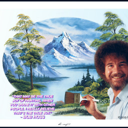freetoedit bobross challange nature trees ecthejoyofbobross