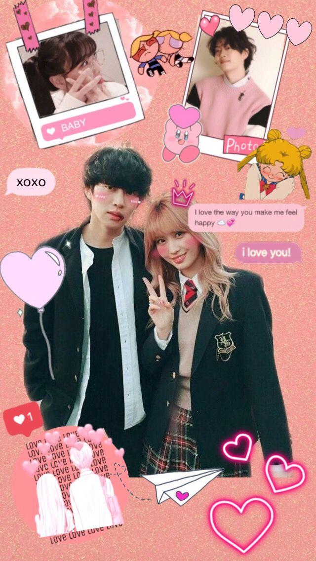 #momotwice #heechulsuperjunior #couple #lovekpop  #freetoedit