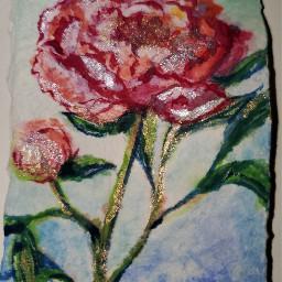 freetoedit peony flower watercolor myartwork2020