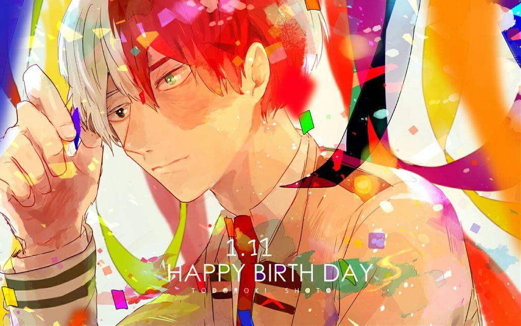 Happy birthday todoroki #shototodoroki #myheroacademia