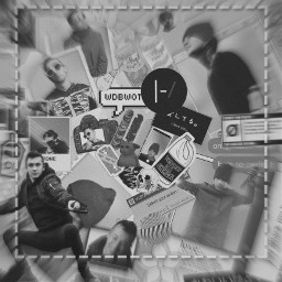 tylerjoseph blurryface complex blur blackandwhite freetoedit