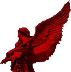 angel demon demoncore demonaesthetic statue freetoedit