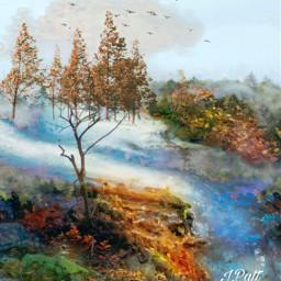 freetoedit nature autumn skyandclouds birdsflying myeditoffreetoedit