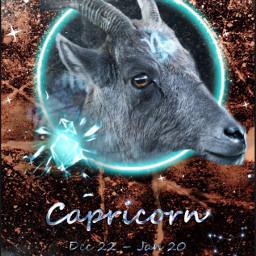 freetoedit zodiacsign capricorn eczodiac