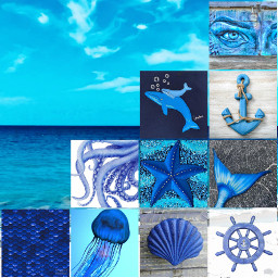 collageart collageoftheday collagechallange collagemaker bluecollage ccblueaesthetic freetoedit