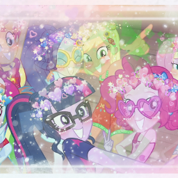 equestriagirls twilight pinkiepie rainbowdash fluttershy freetoedit