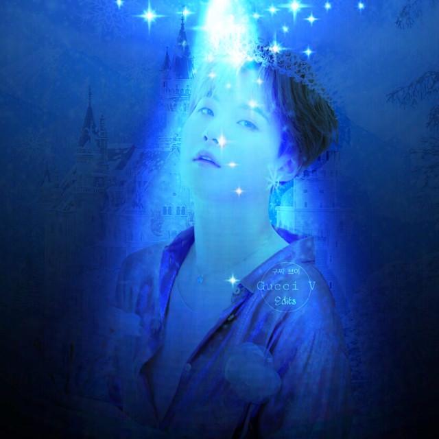 #freetoedit #blue #magic #army #sparkle #suga #btssuga #minyoongi