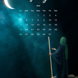 freetoedit moon calendar stickers standing