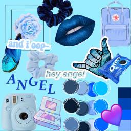 freetoedit blueaesthetic aesthetic blue aesheticblue