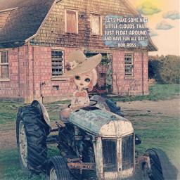 freetoedit ecthejoyofbobross thejoyofbobross tractor doll