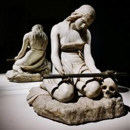 sculpture antoniocanova madonnapenitente face tears