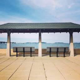 freetoedit sea symmetry horizon benches