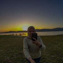 pctravel travel freetoedit gopro sunset trip vacation
