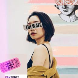 freetoedit pastel pantone stickers template