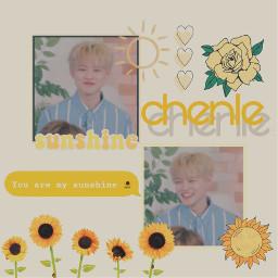 chenle nct yellow aesthetic sunshine freetoedit