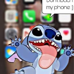 phone hintergrund art stich