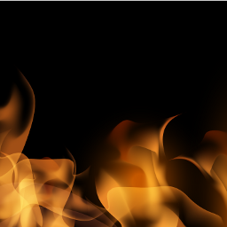 background black flames fire digital freetoedit