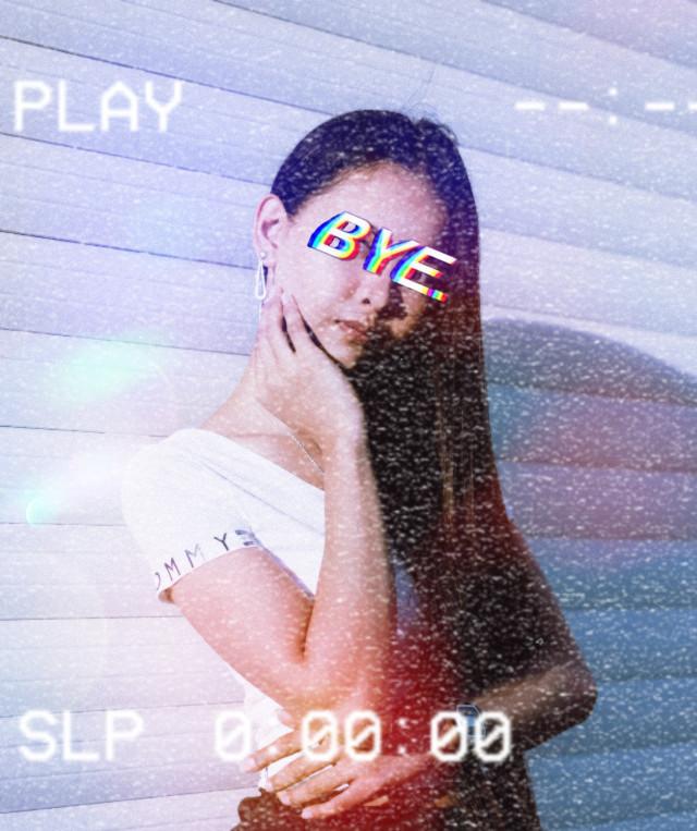 #freetoedit #aesthetic #static #bye #edit #remixed