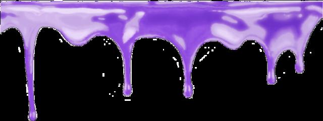 slime purple purpleslime drip dripping freetoedit