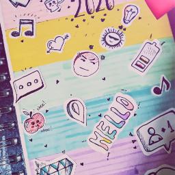 freetoedit diy diary2020 doodles