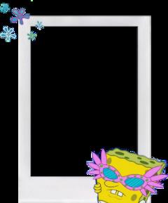 bobesponja bobsponge polaroid polaroidframe freetoedit