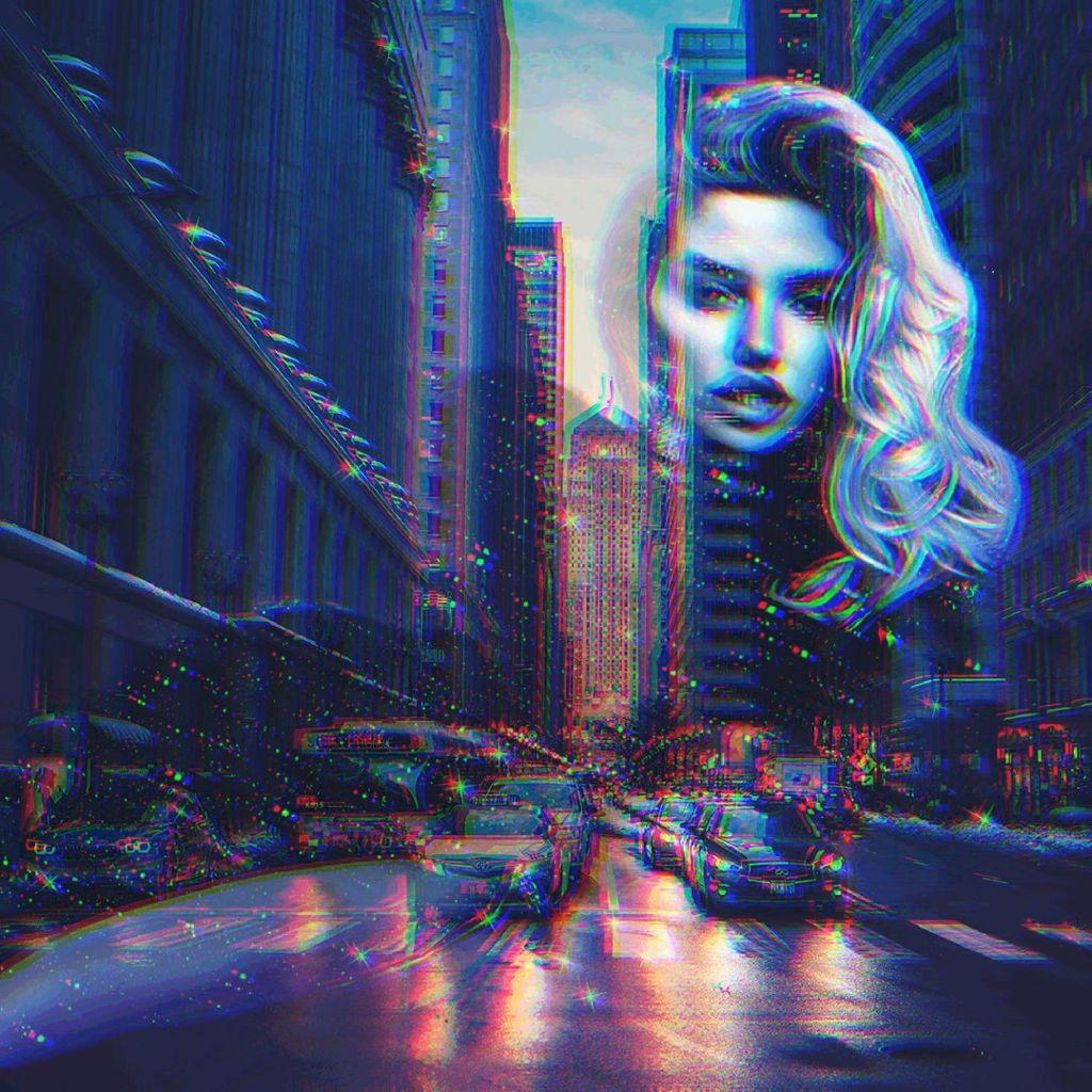 #freetoedit #glitch #glitcheffect #glitchbrush #doubleexposure #makeover #dispersion #blackaestethic #city #chicago #holographic #instagram #inspiration