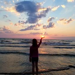 freetoedit sunset beach beachlife pretty pctheblueabove theblueabove