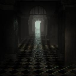 freetoedit fnaf fnafarspecialdelivery fnafar hallway scary